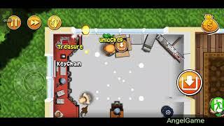 Robbery Bob - Bonus Chapter (Challenge) Level 12 Gameplay Video