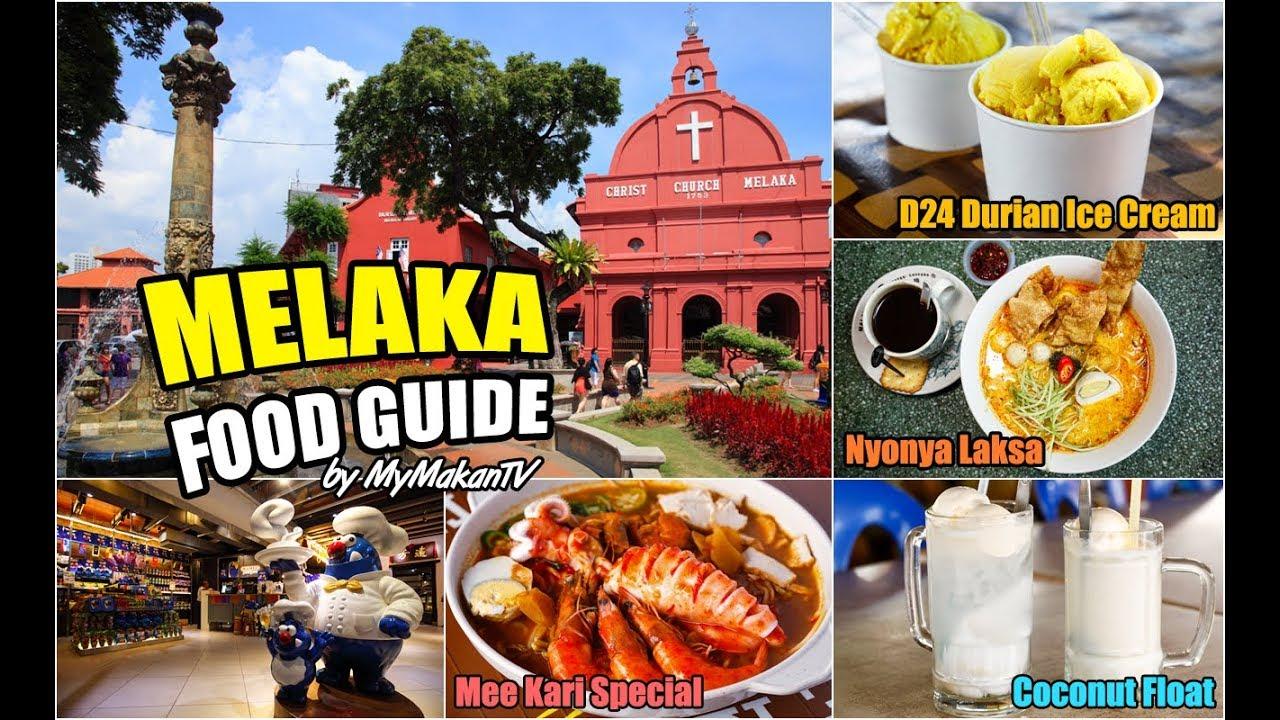 Melaka Halal Food Guide - More than 40 Places to Eat in Melaka