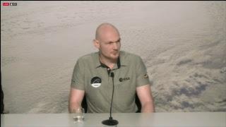 Pressekonferenz mit Astronaut Alexander Gerst
