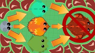 Mope.io How NOT To Get The New Land Monster!! + 1v1ing a Haxer (Mope.io Beta Update)