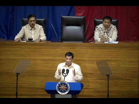 FULL VIDEO: Rodrigo Duterte's State Of The Nation Address (SONA) 2018
