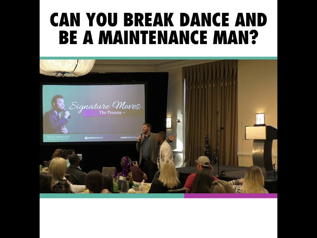 The Break Dancing Maintenance Man Promise