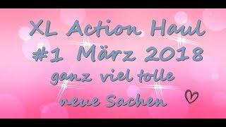 XL Action Haul März 2018 #1 -  Neue Sachen - Lightboxen - Stanzen - u.v.m.