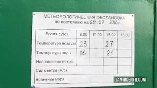 Крым Пляж Ласпи Нет ТУРИСТОВ или холодная вода ?