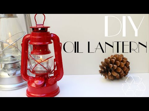 ReSpirit DIY - Oil Lantern || Upcycle
