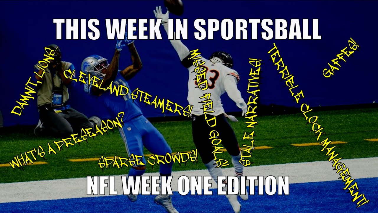 This Week in Sportsball: NFL Week One Edition (2020)