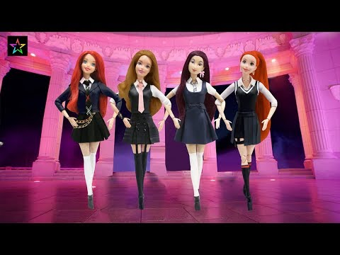 Play Doh BLACKPINK - '마지막처럼 (AS IF IT'S YOUR LAST) Inspired Outfits Disney Princesses