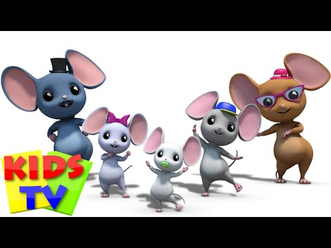 mouse finger family | nursery rhyme | kids songs | 3d rhymes
