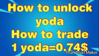 Yoda coin Big Update|How to Unlock Yoda Coins from Yobit Invest Box and How to Trade