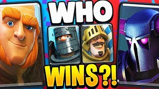 PEKKA vs GIANT! Best DOUBLE PRINCE Deck in CLASH ROYALE?!