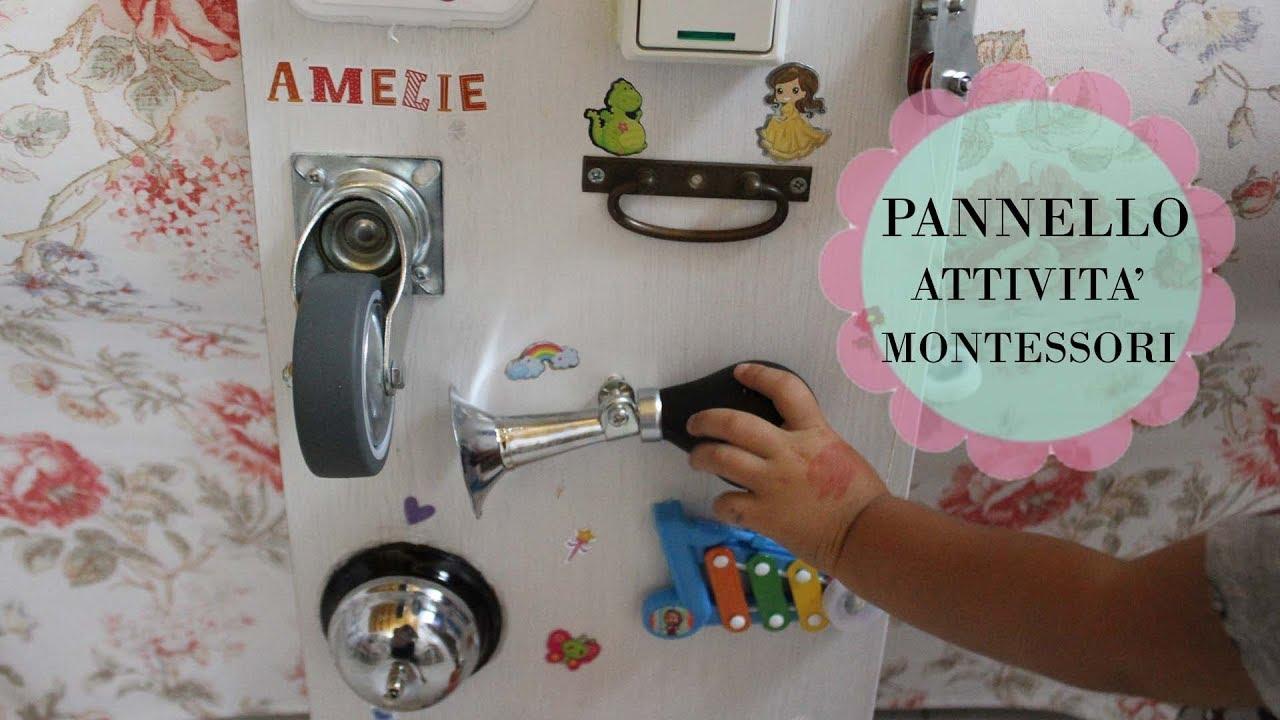 Pannello attivita 39 fai da te sensory board youtube for Calamite frigo fai da te