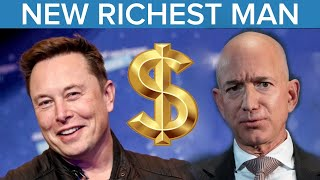 Tesla's Elon Musk Passes Amazon's Jeff Bezos