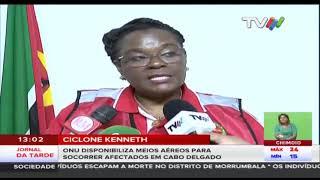 Ciclone Kenneth: ONU disponibiliza meios aéreos para socorrer afectados em Cabo delgado