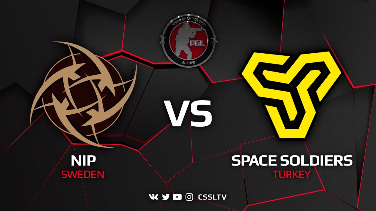 [EN] NiP vs Space Soldiers, cobblestone, EU Minor Closed Qualifier