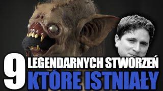 9 Legendarnych stworzeń, które istniały naprawdę!  #2
