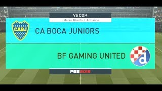PES 2018 Maradona Challenge Match 1 - BFG United vs Boca Juniors