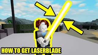 [FULL GUIDE] HOW TO GET THE LASERBLADE   Roblox Mad City