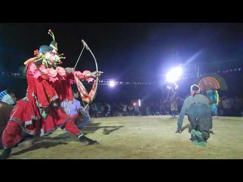 Chhou dance of Puruliya Kirat Arjun II