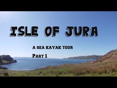 Isle of Jura sea kayak tour part 1