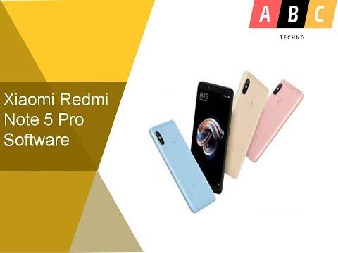 Xiaomi Redmi Note 5 Pro Software