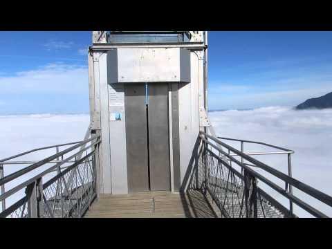 Hammetschwand Lift runter / Hammetschwand elevator down