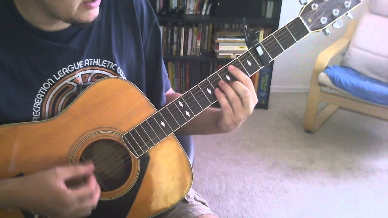 Liam Finn Gather To The Chapel Tutorialchords For Guitar Youtube