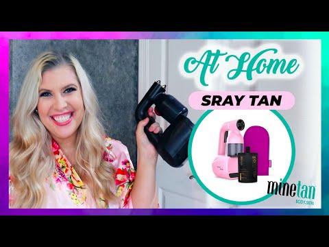 At Home Spray Tan Machine? | Bronze Babe MineTan Review