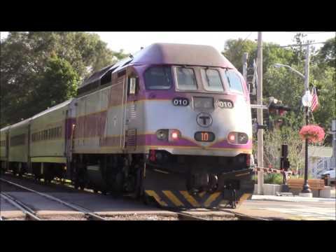 MBTA Commuter Rail and Amtrak Compilation!