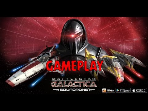 Battlestar Galactica Squadrons (By Ludia) iOS/Android Mobile Game Gameplay
