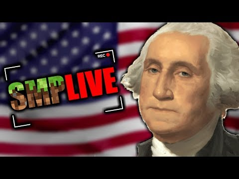 Celebrating Independence Day On SMP LIVE - ConnorEatsPants Stream Highlights