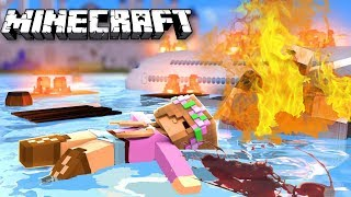 LITTLE KELLY DIES IN A PLANE CRASH??? - Minecraft Little Club Adventures