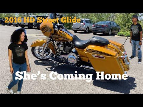 Finally Picking Up My Harley Davidson Street Glide!