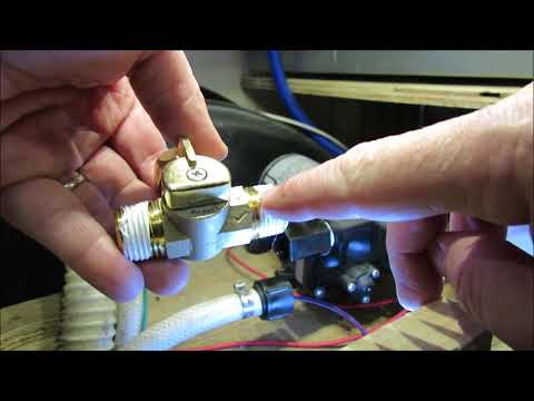 Camco Pump Converter Winterizing Kit Installation Forest River Wildwood X Lite 197bh Youtube
