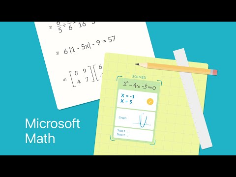 Microsoft Math Solver for PC (2020) - Free Download For Windows And Mac