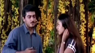 Best Scene Jyotika And Ajith Express Love Starring Ajith Kumar,jyothika,raghuvaran Mugavaree