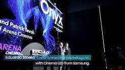 Samsung Onyx: Cinema LED Signage Showcase event at Arena cinemas Zurich