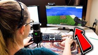 Minecraft z Siostrą - PIERWSZA ŚMIERĆ XDXD!! #1