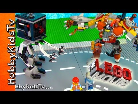 The LEGO Movie METALBEARD! Micro Manager, Skeletron [Box Open] [Toy Review] (70807)
