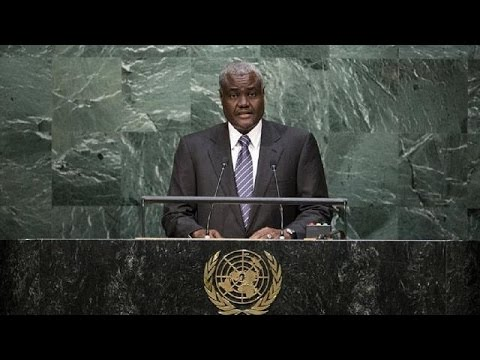 Chad's Moussa Faki is new AU Commission chairperson
