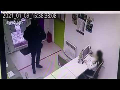 В Энгельсе налетчик с ножом напал на офис микрозаймов