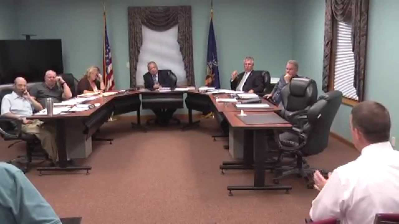Champlain Town Board Meeting  7 14 15