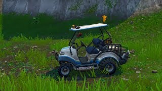"""All Terrain Kart Gameplay"" *NEW* Fortnite Season 5 Golf Cart! (Fortnite Season 5)"