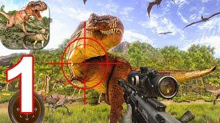 Jurassic Wild Dinosaur Hunter 3D: Animal Shooting - Gameplay Walkthrough Part 1 (Android,iOS)