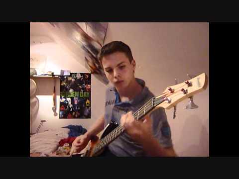 Green Day - American Idiot {Bass Cover} with TABS
