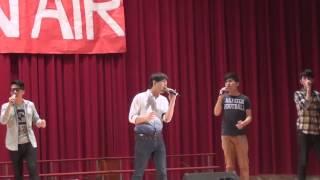 (萬芳高中 ON AIR) VOX玩聲樂團(live) - 在你身邊(韋禮安)