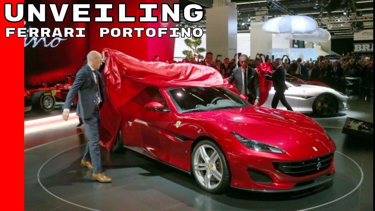 Ferrari Portofino Unveiling
