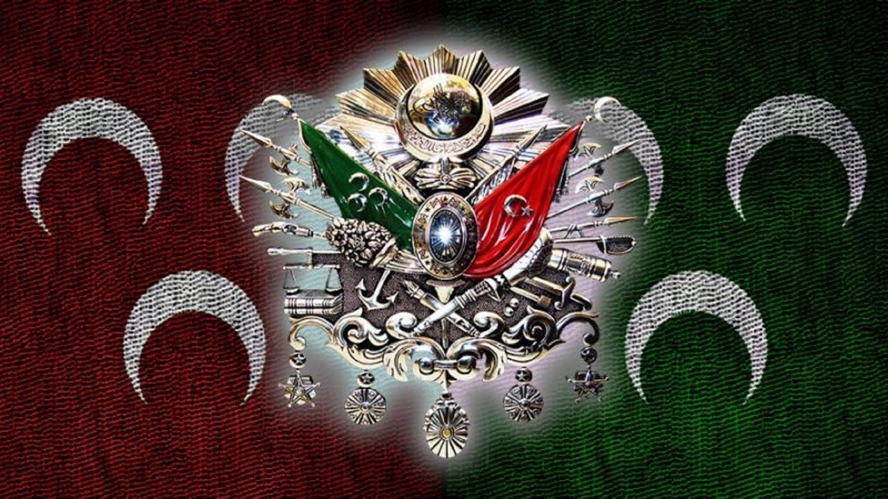 Флаг османской империи фото