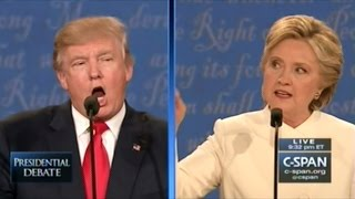 DONALD TRUMP vs HILLARY CLINTON FINAL 2016 PRESIDENTIAL DEBATE IN LAS VEGAS (FULL DEBATE)
