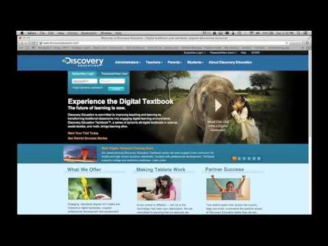 getting started with discovery education streaming youtube