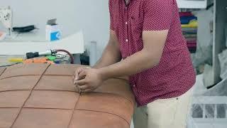 DIY : Faire une tête de lit capitonnée | Doovi